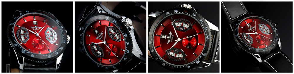 mechanical automatic Watch date men watches